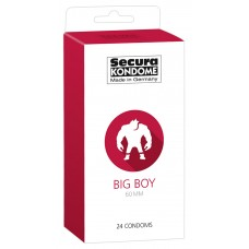 Secura Big Boy - 60mm-es óvszerek (24db)