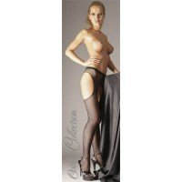 Black Fishnet open Tights S/M