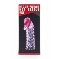 Lybaile Male-Wear Penis Sleeve Pink
