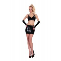 GP DATEX MINI SKIRT WITH CUT-OUT REAR S