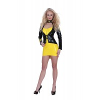 GP DATEX SERGEANT COSTUME YELLOW/BLACK S