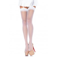 721001WSL SHEER STOCKING O/S WHT