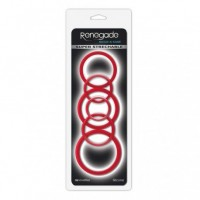 Renegade - Build-A-Cage Rings - Red