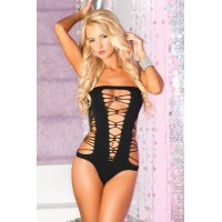 Juicebox seamless bodysuit black