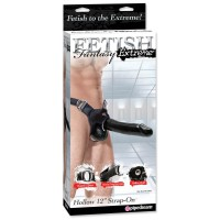 "Fetish Fantasy Extreme Hollow 12"" Strap-on"