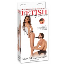 Deluxe Ball Gag with Dong