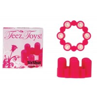 Sixshot Vibrating Ring Pink