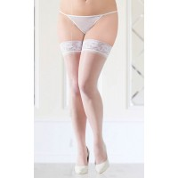 Stockings 5514    white/  5