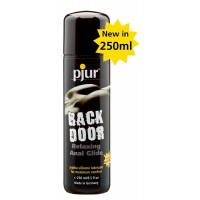 pjur back door relaxing silicone anal glide 250 ml